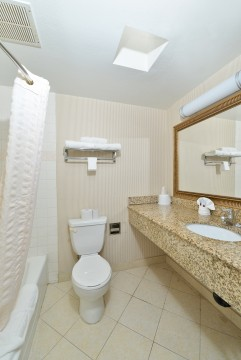 LAX Stadium Inn - Guest Bathroom